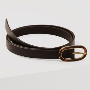 Black Tortoise Shell Belt